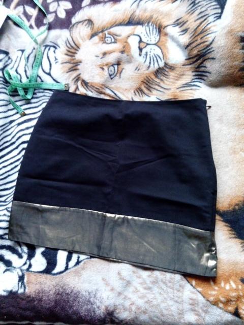 Spódnice spódniczka ze złotym paskiem