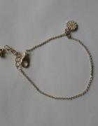 bransoletka srebrna zawieszka na łańcuszku
