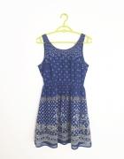 Sukienka we wzory H&M S
