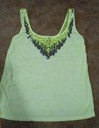 Neonowa bluzka BERSHKA XS