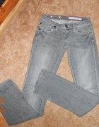 Spodnie dzinsowe DKNY rozmiar 25