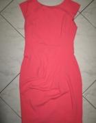 NEXT Petite różowa wizytowa sukienka roz 34