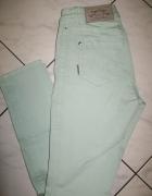 MARC CAIN miętowe spodnie damskie roz 36