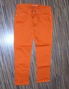 pomaranczowe spodnie Miss rozmiar XL