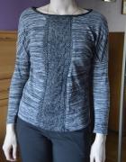 szary sweter 36 38 S M promod