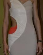 sukienka XS wycięcie