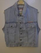 jeansowa kamizelka 40 42 44 L XL XXL
