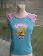 Oryginalna koszulka Spongebob Nickelodeon L