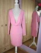 Landrynkowa sukienka