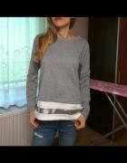 Bawełniana bluza Szachownica