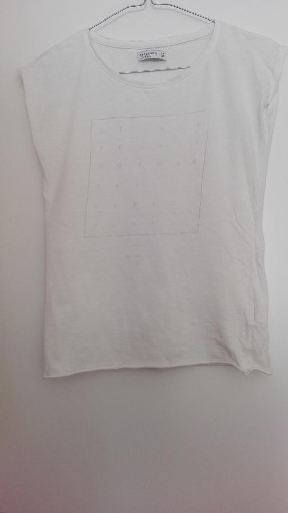 Koszulka XS Biała...
