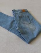 spodnie jeansy boyfrend stradivarius s...