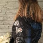 Nowa kurtka FASHION pikowana czarna