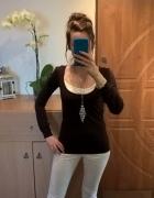 Brązowa bluzka M