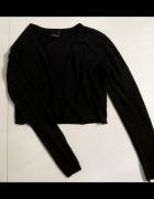 Czarny sweterek rozmiar XS