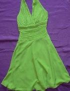 sukienkarozkloszowana na wesele 34 36 XS S