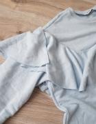 bluza z falbanami ZARA M