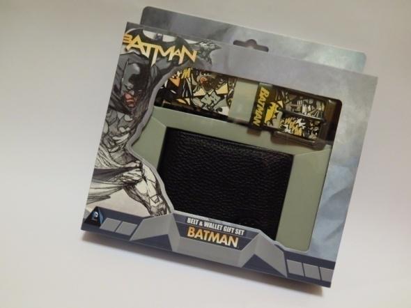 Nowy zestaw Batman portfel i pasek