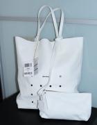 GINO ROSSI piękna torba NOWA biała