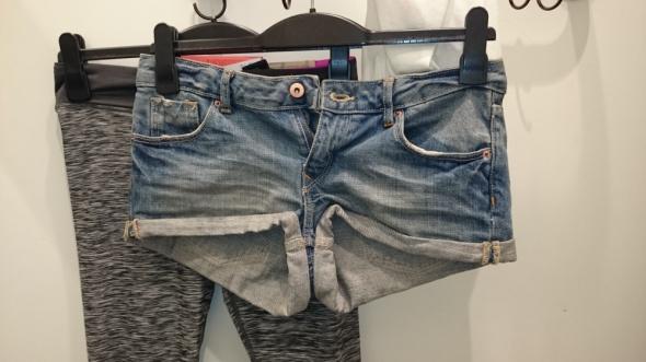 Jeansowe spodenki xs s...