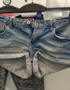 Jeansowe spodenki xs s