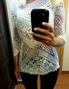 Śliczna bluzka ażurkowa prosto z ITALII