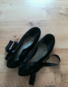 Mocno znoszone balerinki baletowe 38