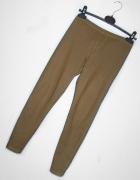 brązowe legginsy SM