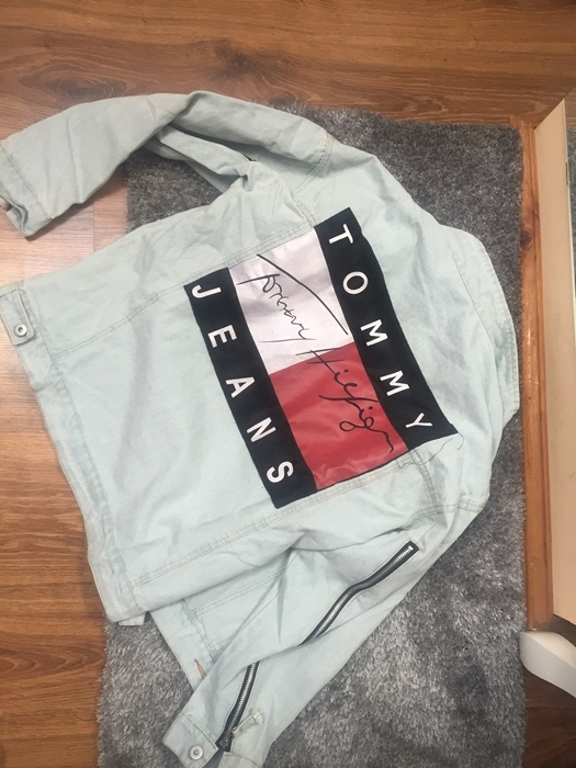 Kurtka katana jeans Tommy
