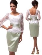 Elegancka sukienka wieczorowa 42