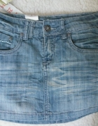 spódniczka jeansowa