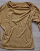 musztardowy sweter