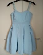 Śliczna błękitna sukienka...