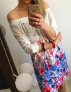 Sukienka Hiszpanka Damska w kwiaty M