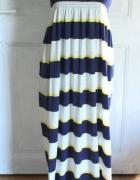 Długa letnia sukienka r M