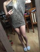 tunika sukienka panterka...