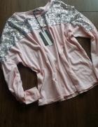Nowa bluzka z cekinami