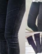 Śliczne czarne spodnie