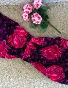 CUDOWNA sukienka RÓŻOWE kwiaty lato HIT