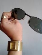 okulary pilotki przeciwsłoneczne czarne