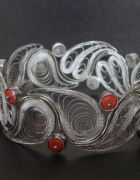 Bransoleta imago artis z koralami