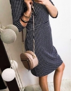 Sukienka Damska w kratkę elegancka L