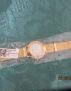 Piękny zegarek okragły kryształki nowy