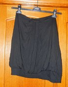 Sexy top bez ramiączek czarna bluzka Camaieu