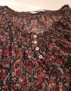 Bluzka C&A Clockhouse mgiełka floral