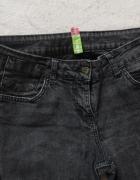 czarne jeansy Denim Co