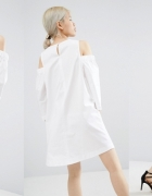 Asos piekna sukienka odkryte ramiona...