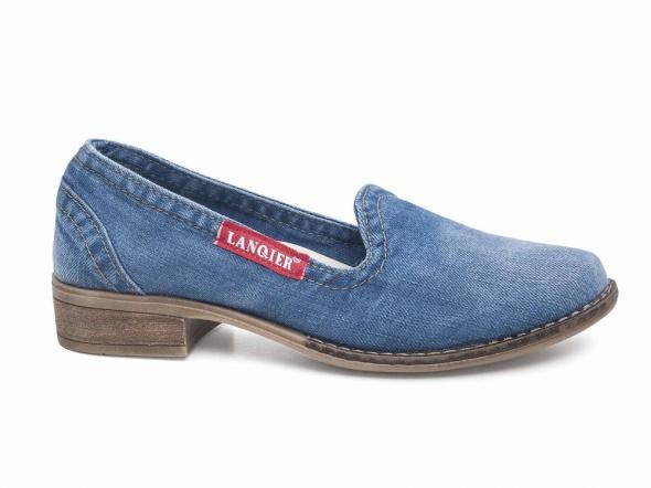 Buty dżinsowe damskie Lanqier 42C222
