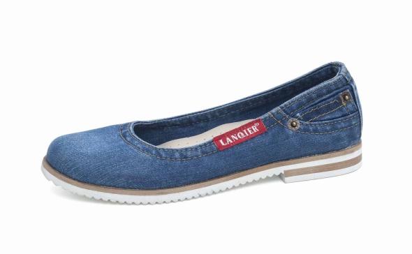 Buty dżinsowe jeansowe damskie Lanqier 42C218