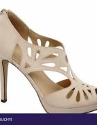 Buty ślubne nowe ecru